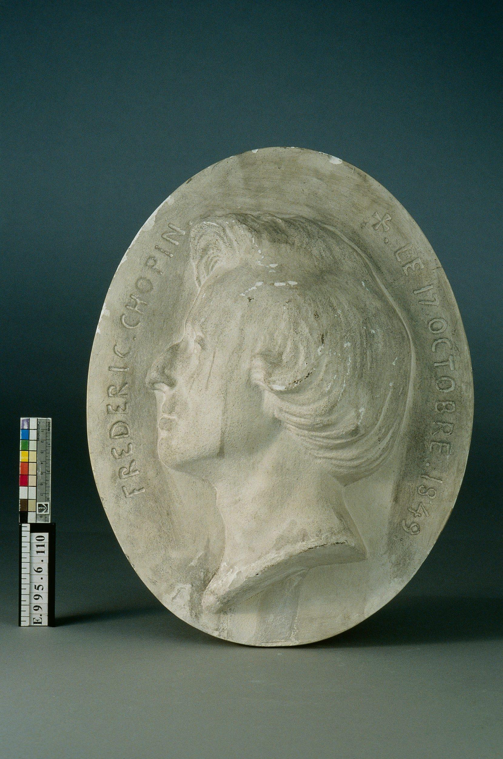 Portrait Frédéric Chopin (1810-1849) | Clesinger, Auguste