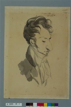 Portrait-charge de Frédéric Chopin | Isabey, Jean-Baptiste