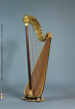 Harpe chromatique   Maison Pleyel