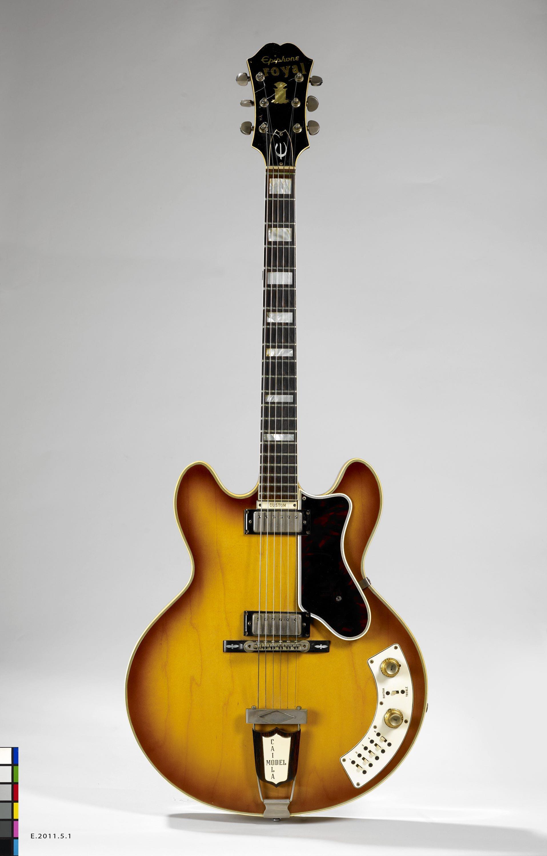 Guitare électrique modèle Al Caiola Custom   Epiphone, Marque