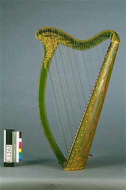 Reconstitution de harpe irlandaise | John Egan