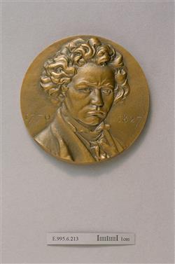 Médaille de Ludwig van Beethoven (1770-1827) | Coutin, Auguste