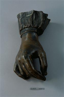 Moulage de la main de Frédéric Chopin (1810-1849) | Eck et Durand