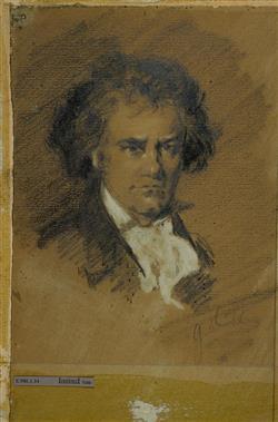 Portrait de Ludwig van Beethoven (1770-1827) | Anonyme