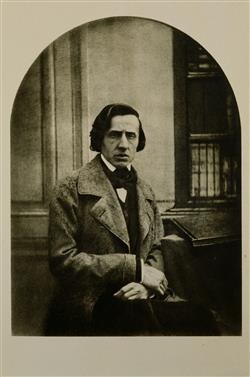 Portrait de Frédéric Chopin | Bisson, Louis-Auguste