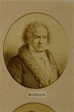 Portrait de Ludwig van Beethoven (1770-1827) | Desmaisons