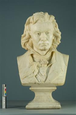 Buste de Ludwig van Beethoven (1770-1827) | Dantan, Jean-Pierre