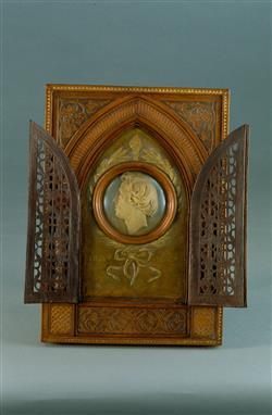 Médaillon de Frédéric Chopin (1810-1849) | Bovy, Antoine