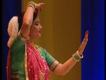 L'Inde du Nord. Récital de danse kathak | Mitra, Malabika