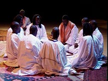Nuit soufie. Déclamations de Khassaïdes de Serigne Touba par des Mourides (Sénégal) | Les Mourides de Touba