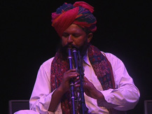 L'Inde, 24 heures autour du Raga : la nuit. Inde du Nord : Flûte satara du Rajasthan | Feiruz Khan Manghaniyar