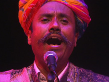 L'Inde, 24 heures du Raga : le jour. Inde du Nord : Chants du Rajasthan   Anwar Khan Manghaniyar