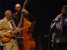 Jazz à la Villette : Ernest Ranglin & friends feat. Cheikh Lô, Tony Allen, Courtney Pine, Ira Coleman & Alex Wilson | Ernest Ranglin
